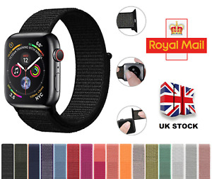 For Apple Watch iWatch Series SE 6 5 4 3 2 38/40/42/44mm NYLON Sport Band Strap