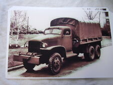 1942 GMC ARMY TRUCK  11 X 17  PHOTO  PICTURE