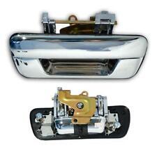 FIT 2002-2011 Isuzu pickup Rodeo Dmax D-Max Chrome Rear Doors Handle Tailgate
