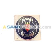 NEW SAAB 9000 90-97 REAR SAAB SCANIA Emblem NOS NLA CD CDE RARE 4094777 LAST 1