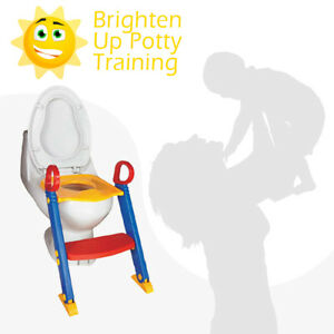 Potty Training Toddler Baby Safety Step Ladder Loo Learning System Safety Seat