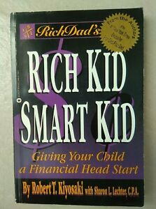 Books - Rich Kid Smart Kid by Robert Kiyosaki