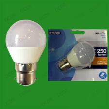 2x 4W BC B22 LED Mini Golf Ball G45 Instant On Round Light Bulb Lamp Globe