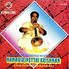 CD- Namagiripettai Krishnan- Nadhaswaram- Live Madras Festival-India Import-1996