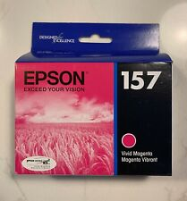 GENUINE EPSON #157 MAGENTA INK T1573 STYLUS PHOTO R3000 NEW C13T157320 SEALED