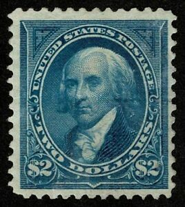 Scott#277 $2 President James Madison 1895 Mint HR OG