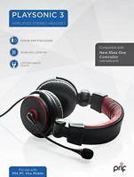 Prif PlaySonic 3 Amplified Stero Gaming Headset for PS4 PC Xbox One New Boxed