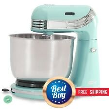 Cake Stand Mixer Cookie Dough Electric Bowl Batter Countertop Compact 6 Speed