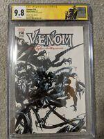 Venom #150 Signed Clayton Crain CGC 9.8 SS Venom Label Variant 1 of 11 SS Graded