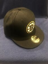 New Era 59Fifty NHL Boston Bruins *Primary Black* Fitted Cap 7 1/2 *NWT* Vintage