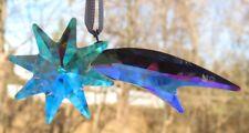 Swarovski Christmas Shooting Star Ornament Aurora Boreale (#5287009) Mint & NIB