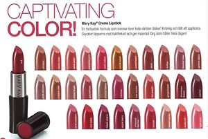 MARY KAY CREME LIPSTICK~NIB~YOU CHOOSE MOST WANTED DISCONTINUED RARE COLORS!