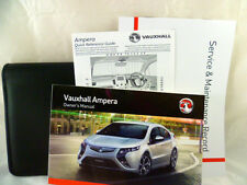 VAUXHALL AMPERA SERVICE BOOK HANDBOOK & WALLET PACK -  2011 To 2016 NEW