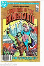Conqueror Of The Barren Earth #4 - DC Comics - May 1985 - FAIR - Part 4 of 4