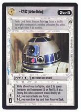 SWCCG Star Wars CCG • R2-D2 Artoo-Detoo • A NEW HOPE • LIMITED BB RARE