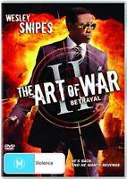 The Art of War: Betrayal (DVD, 2008)*Region 4*Wesley Snipes*VGC*
