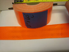 "NEON ORANGE  Reflective   Conspicuity  Tape 2"" x 60 feet"