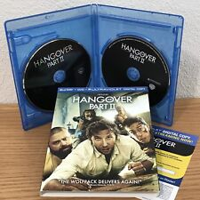 THE HANGOVER: PART II (Blu-Ray/DVD/Digital, 2011) 2-DISC SET with SLIPCOVER