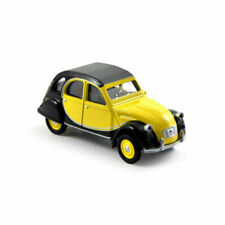 1/54 3-inches Citroen 2 CV Charleston amarillo negra -norev