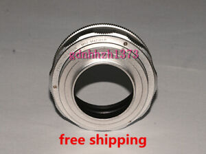 High-quality M52 to M42 Lens Adjustable Focusing Helicoid adapter17~31mm silvery