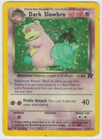 Pokemon Card Unlimited Edition Holo Rare Team Rocket Dark Slowbro 12/82