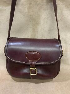 Vintage Leather Cartridge Bag Parsons and Sons