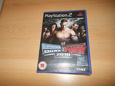 WWE SMACK DOWN VS rAW 2010 - PLAYSTATION 2 PS2 - Nuevo Precintado