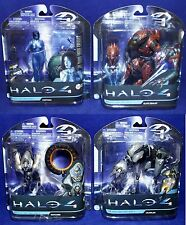 New - HALO 4 Series 1 Figures - ELITE ZEALOT - Crawler - CORTANA - Watcher HALO4
