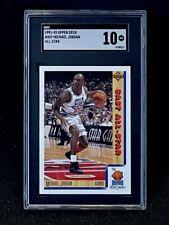 1991-92 Upper Deck #452 Michael Jordan All-Star SGC 10 Gem Mint