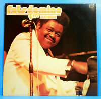 FATS DOMINO LIVE IN EUROPE LP 1977 ORIGINAL PRESS GREAT CONDITION VG++/VG++!!