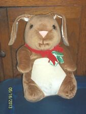 1985 RABBIT EARS TARGET STORES BROWN LONG EARS BUNNY RABBIT PLUSH