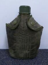 VIETNAM ERA WATER BOTTLE AND COVER vintage australian army canvas cover & bottle