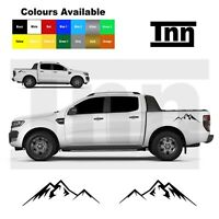 Side Mountain Sticker For Ford Ranger Raptor Decal Stickers Decals 4x4 Off Road