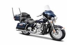 Maisto Modèle Réduit de Moto Harley Davidson 2013 FLHTK Electra Glide Blue 1/18