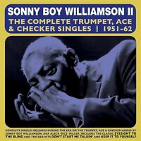 SONNY BOY WILLIAMSON - THE COMPLETE TRUMPET ACE & CHECKER SINGLES  2 CD NEW!