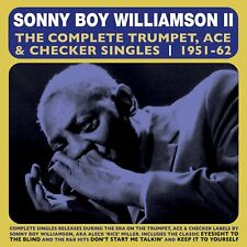 SONNY BOY WILLIAMSON - THE COMPLETE TRUMPET ACE & CHECKER SINGLES  2 CD NEUF