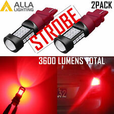 Alla Legal Strobe 3157 Brake Light|Parking Light|Side Marker|Tail|Turn Signal 2x