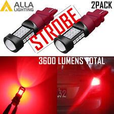 Alla Legal Strobe 3157 Brake Light|Parking Light|Side Marker|Tail|Turn Signal 2x