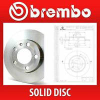 Brembo Rear Pair Solid Brake Discs 08.A029.10 - Fits MAZDA 3 (BK), 3 SALOON (BK)