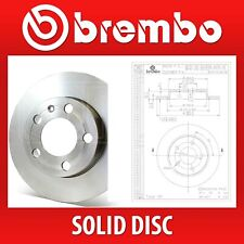 Brembo Rear Pair Solid Brake Discs 08.A029.10 - Fits MAZDA 3 (BK), 3 SALOON (BK)