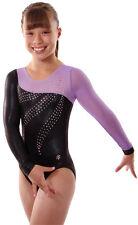 New! Child Medium Serenity Gymnastics Comp Leotard by Snowflake Designs