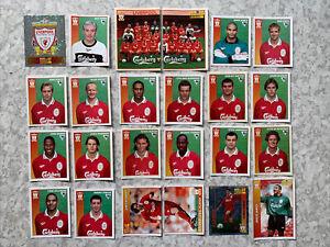 Liverpool Merlin Premier League 97 Unused Sticker Lot