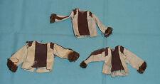 vintage Mego POTA Planet of the Apes DR. ZAIUS SHIRT LOT x3 clothes