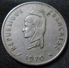 French Afars & Issas (Djibouti) 1970 50 francs