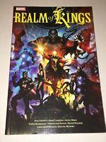 Realm of Kings TPB Marvel 2010 Inhumans MCU