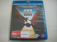 127 Hours (2010) - Blu-Ray + DVD Region B/4 | VGC | James Franco | Danny Boyle