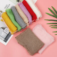 Soft Long Newborn Wrap Baby Photography Props Blanket Stretch Knit Wrap