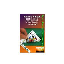 Blackjack 21 Card Counting Training DVD World Famous Casino Cheat Richard Marcus