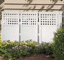 Flower Garden Fence Edging Outdoor Privacy Screen Panels Yard Lattice Divider