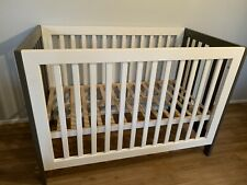 Bruin Cot/Toddler Bed - Grey and White